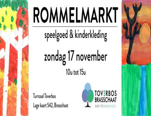Kinderrommelmarkt op zondag 17 november